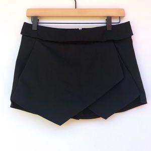 Zara Basic Asymmetrical Envelope Skirt